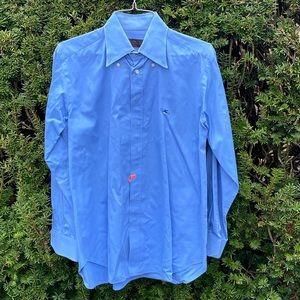 ETRO**100% Cotton Blue Shirt**Size 42